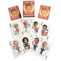 Donald Trump Presidential Playing Cards  from - HeroDecks