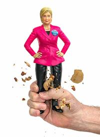 The Hillary Nutcrackerwith  Stainless Steel Thighs from - Damn Handy Products