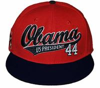 President Obama Snap Back Cap Red from - Big Boy Headgear