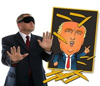 Pin The Toupee on Trump Party Game from - Gears Out