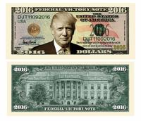 Donald Trump 2016 Federal Victory Limited Edition Presidential Dollar Bills from - American Art Classics