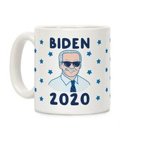 Biden 2020 White Ceramic Coffee Mug  from - LookHUMAN