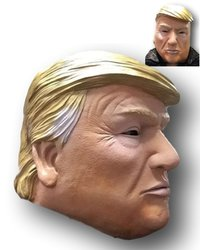 Donald Trump Full Head Latex Mask from - Rubber Johnnies