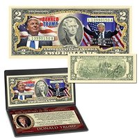 Donald Trump 45th President Billion Dollar Bill from - A Ross and Company