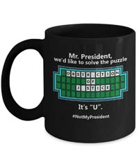 Anti Trump Coffee Mug - Funny Democrat Gift from - Unknown
