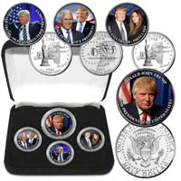 Donald Trump Elected 45th President Coin Collection from - American Art Classics
