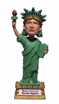 Donald Trump Statue Of Liberty Bobblehead from - Militec