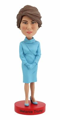 Melania Trump Inaugural Version Bobblehead from - Royal Bobbles