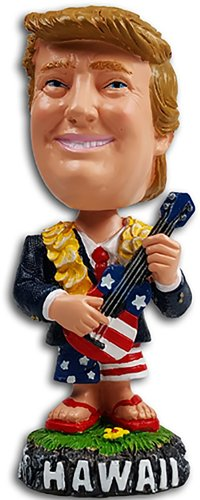 President Trump Hawaii Dashboard Bobble Head from - KC Hawaii