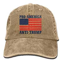 Pro America Anti Trump Baseball Hat  from - FangNer