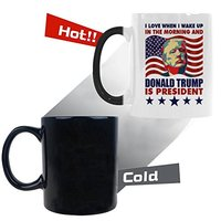 Donald Trump is President Heat Reveal Mug from - WECE
