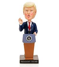 President Donald J. Trump Inaugural Bobblehead from - Presidential Gifts