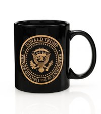 45th President Donald Trump Presidential Gold Seal Mug from - Presidential Gifts