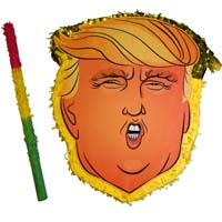 Donald Trump Party Pinata (With Stick To Swing and  from - Blue Cat Lifestyles