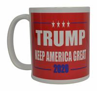 Donald Trump Keep America Great Coffee Mug (Red)  from - Rogue River Tactical