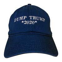 Dump Trump 2020 Baseball Hat from - The Hat Pros