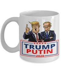 Trump Putin 2020 Coffee Mug from - CyberHutt West