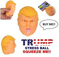 Donald Trump Stress Ball Squishy Squeeze Toy from - iGifts Inc.
