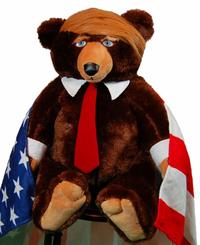 Trumpy Bear - Teddy Bear with Trump Card  from - Trumpy Bear