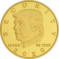 Donald Trump Border Wall Security 2020 Coin from - American Art Classics