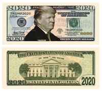Donald Trump 2020 Re-Election Presidential Dollar Bill from - American Art Classics