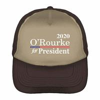 O'Rourke for President 2020 Two-Tone Trucker Cap  from - Tcombo