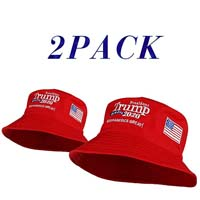 2 Pack Trump 2020 Keep America Great Bucket Hat from - Zzhong