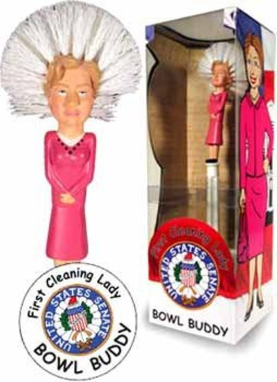 Hillary Clinton 1st Cleaning Lady Toilet Scrubber from - DDI
