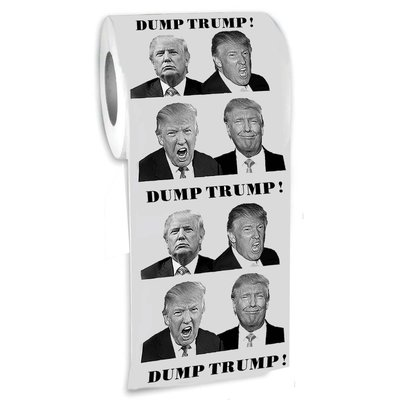 Dump Trump Novelty Toilet Paper from - The Gags