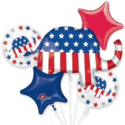 Republican Party Balloons Balloons Bouquet from - American Balloon Company
