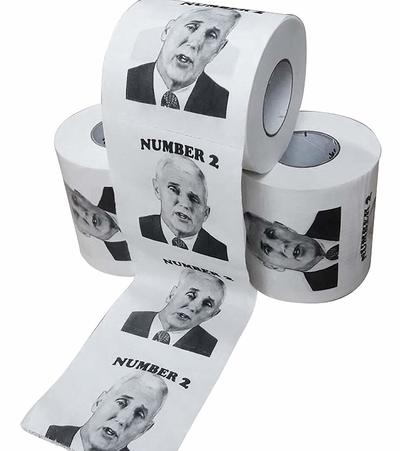 Number 2 Mike Pence Novelty Toilet Paper from - FunGags