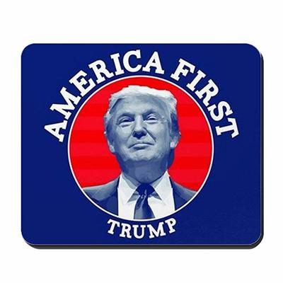 America First Trump Non-Slip Rubber Mousepad from -  CafePress
