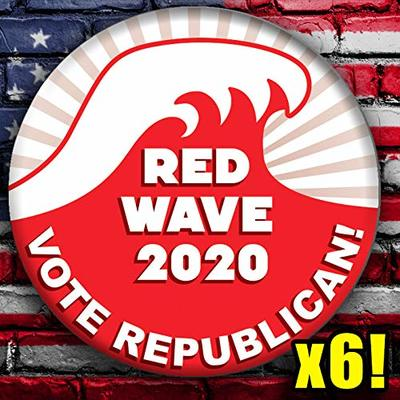 RED WAVE 2020 Election Badges! from - Meteor Storm Buttons