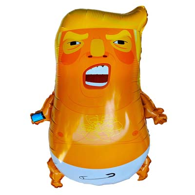 Baby Trump 24 Inch Foil Balloon from - ThePartyBalloon.com