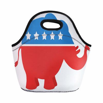 Republican Elephant Lunchbag from - Semtomn