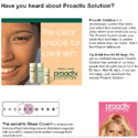 Proactiv Solution micro site