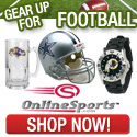 New England Patriots Fan Store at Online Sports. Free Shipping!